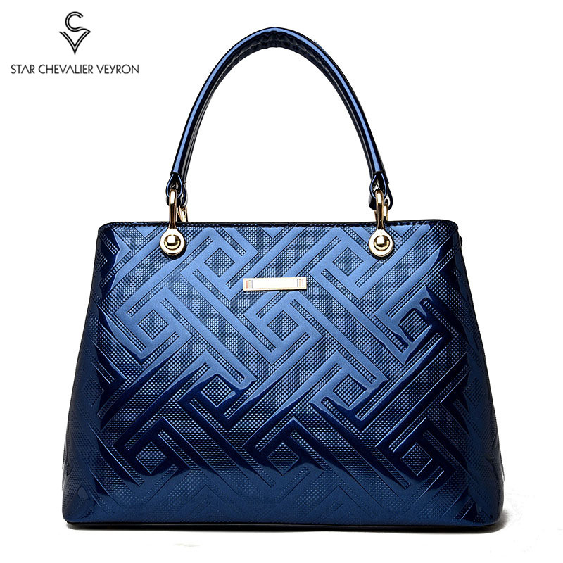 2020 New Female Luxury Handbags Women Bags High Quality Patent Leather Messenger Bags Ladies Totes Channel Pack Messenger Bags