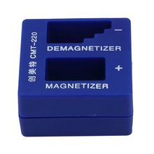 цена на 2 in 1 Magnetizer Demagnetizer For Electric/Manual Screwdriver Tips Magnetic Tool Portable Screwdriver Magnetic Pick Up Tool