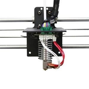 Image 5 - Bijgewerkt Recht type V5 J head voor ANCYUBIC I3 Mega 3D Printer Accessoires 0.4mm Nozzle 12V heater