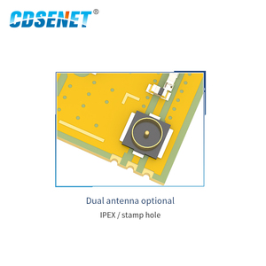 Image 3 - 868MHz 915MHz אלחוטי משדר SMD מודול 13dBm IPEX E43 900T13S3 UART נמוך צריכת חשמל RSSI משדר מקלט