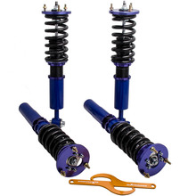 Coilovers süspansiyon amortisörler BMW 5 serisi için E39 525i 530i 528i 540i 96 03 ayarlanabilir yükseklik