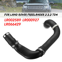 Hot New Intercooler Turbo Pipe Hose Tube For Land Rover Freelander Mk2 2.2 TD4 2006 2014 LR002589 LR066429 LR000927