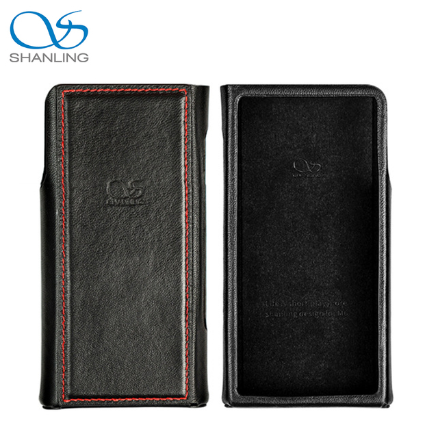 SHANLING M6 Leather Case Black / Brown