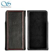Shanling M6 Leather Case Zwart/Bruin