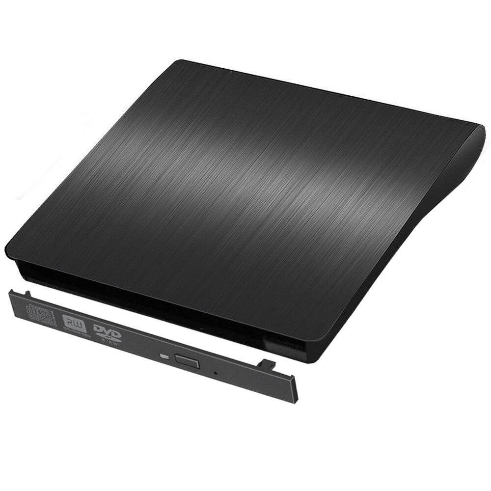 Caixa plástica dura do cerco externo magro de sata dvd de usb3.0 para o portátil notebook 9.0/9.5/12.7mm CD-ROM caso sem movimentação ótica