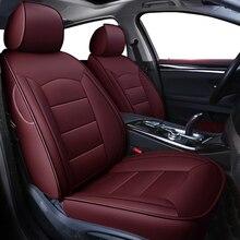 Kokolole housses de siège de voiture en cuir véritable personnalisées, couvre siège pour véhicule, pour Dodge Caliber, Avenger JOURNEY, Challenger