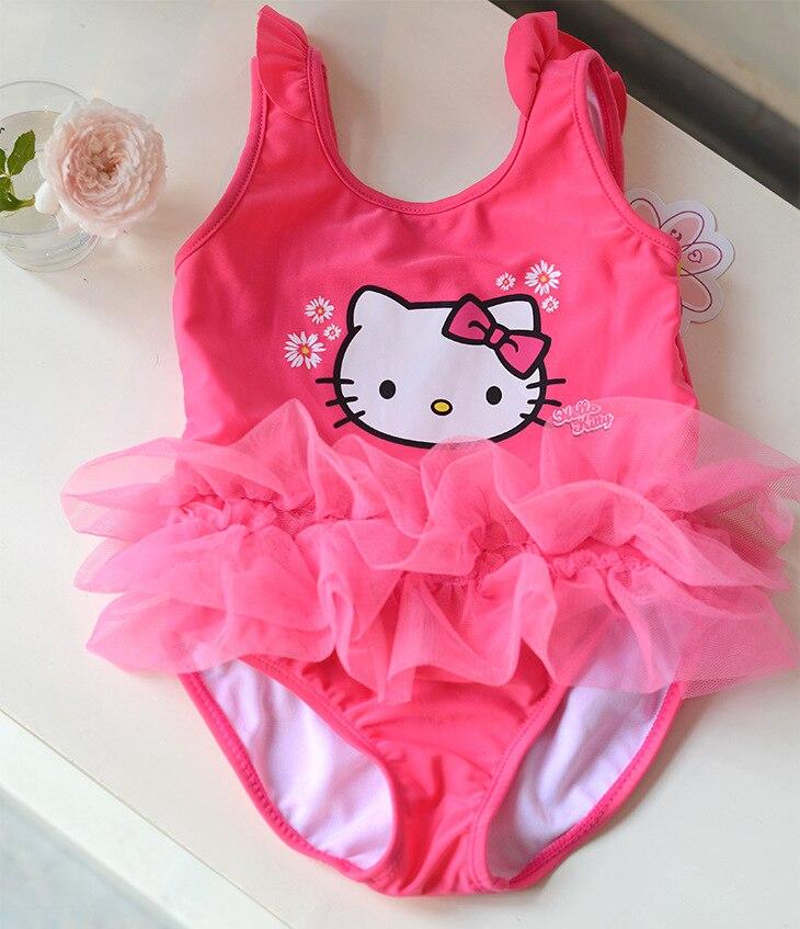 Micro KID'S Swimwear Baby Infants Cute Ballet Swimwear Tutu Princess One-piece