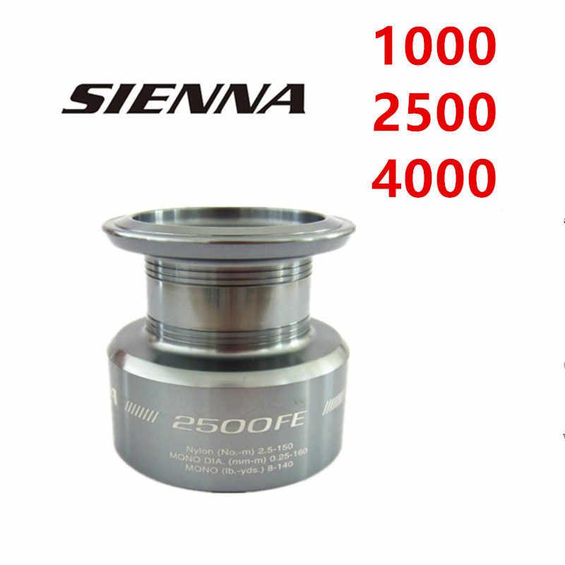 100% Originele Shimano Sienna Reel Fishing Spool Voor 1000 2500 4000 Maat