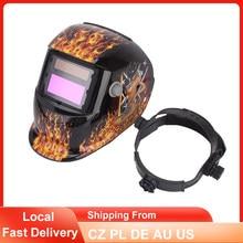 Casco de soldadura con oscurecimiento Solar automático, Rango ajustable MIG MMA TIG, gafas de soldadura eléctrica, lentes de soldadura