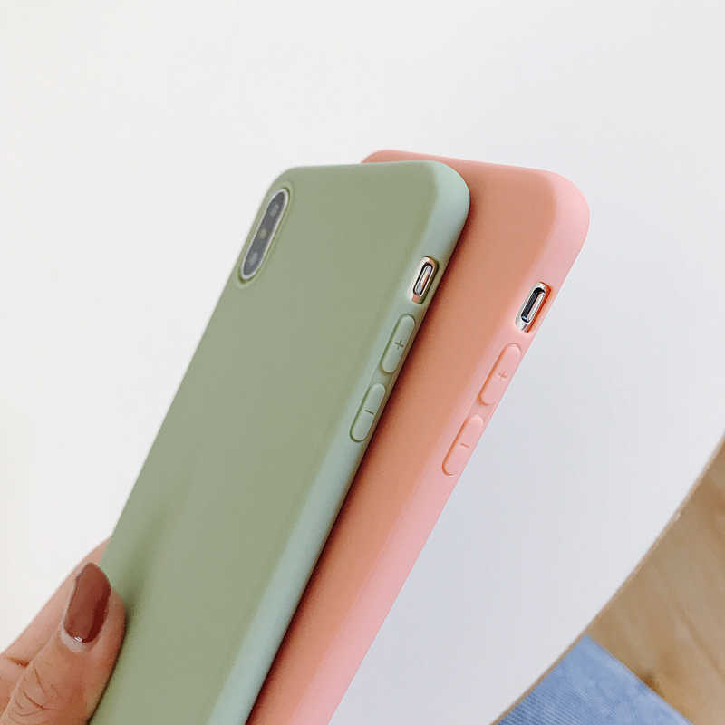 Custodia morbida Per Samsung Galaxy S20 S10 Più S20 Ultra A51 A30S A50 A10 A20 A40 A70 A71 A21 Nota 10 Pro J4 J6 Plus Copertura Della Cassa Coque