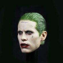 1/6 Scale Jared Leto Male Head Sculpts Model Toys The Joker Suicide Squad Model For 12