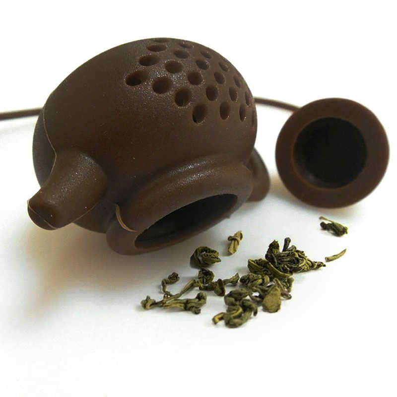 Silicone Loose Tea Infuser Strainer Leaf Tea Strainer for Brewing Device Herbal Spice Filter Kitchen Tools Strainer Tea Set
