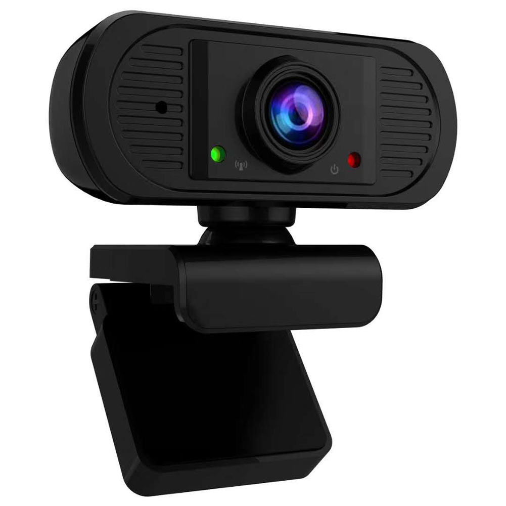 VKTECH 2MP 1080P Full HD Webcam With Microphone 1920 X 1080p USB Driver Free Web Camera For Windows Android Linux