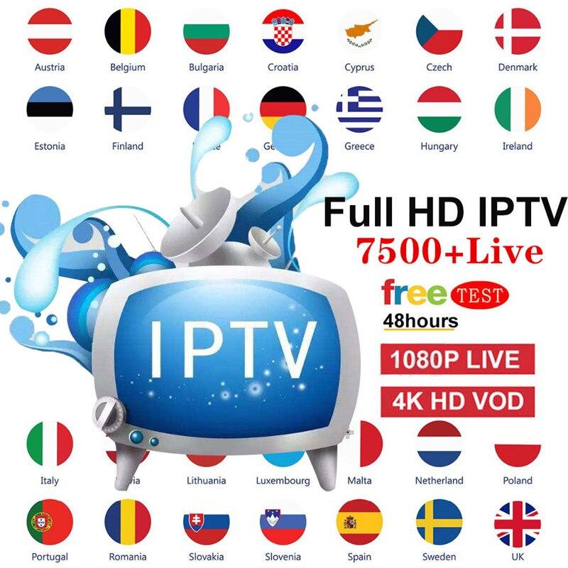Stable IPTV Spain Subscription 4K IPTV France Adult Channels IPTV Portugal 1 Year Abonnement For Smart TV Android  M3U TV Box