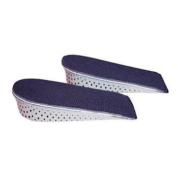 Elevator Shoes Pad Insole Memory Foam Hidden Sports Heightening Half Height Increase