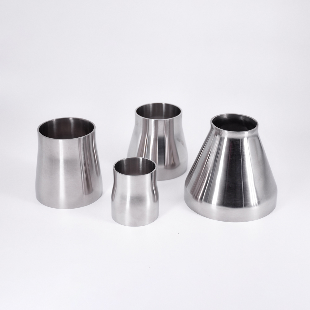 32/38/45/51/57/63/76mm Butt Welding Concentic Reducer SUS304 Stainless Sanitary Pipe Fitting Homewbrew