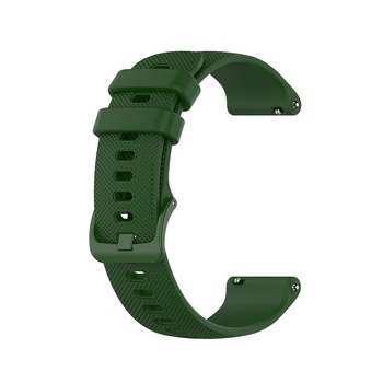 18 20 22mm Sport Silicone Wrist Strap For Garmin Vivoactive 4S 4 3 Smart Watch Band For Vivoactive 3 4 4S Wristband Accessories 16