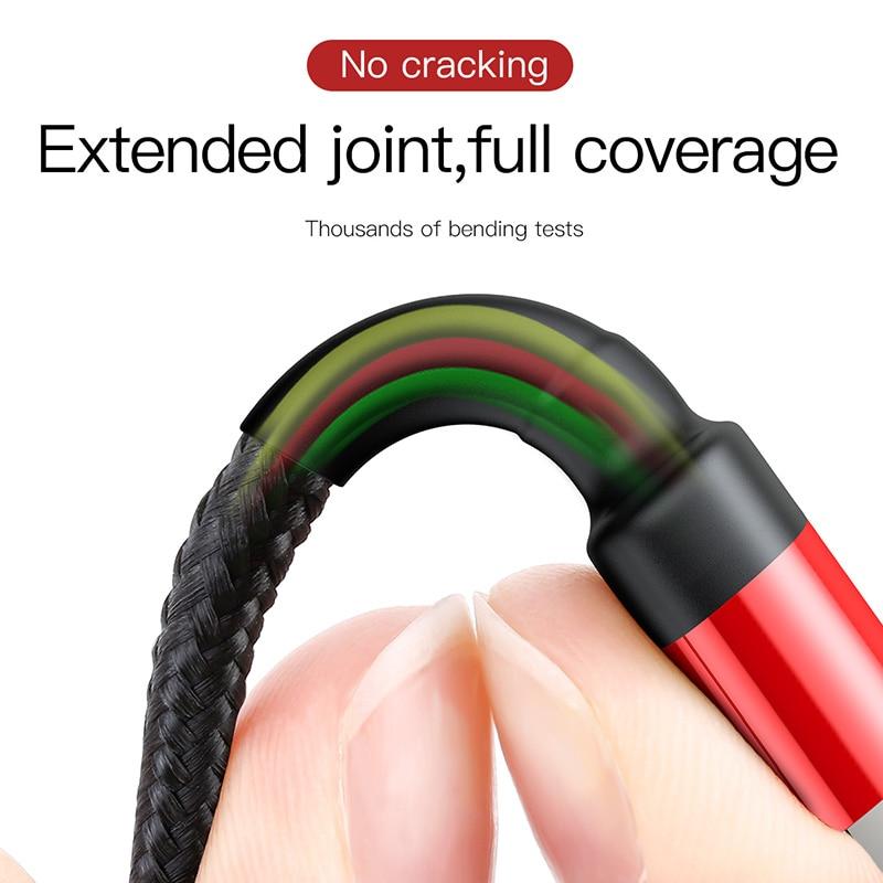 USB кабель Baseus для iPhone 11 Pro Max XS XR X 8 7 6 6s Plus 5 5S SE iPad Pro 2.4A Быстрая зарядка зарядное устройство кабель для передачи данных кабели для телефонов