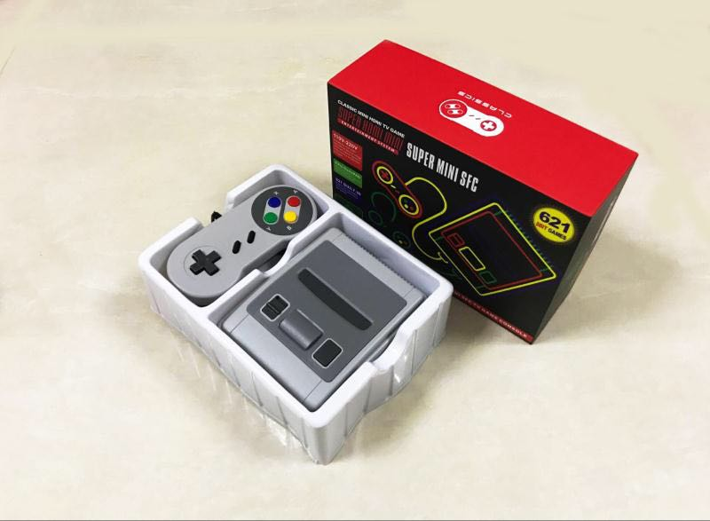 2019 HDMI / AV Out MINI Retro Classic handheld game player Family TV video game console Childhood Built-in 620 / 621 8 bit Games image