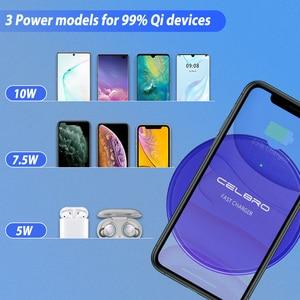 Image 5 - Kablosuz iphone şarj cihazı 11 XS Max X XR 8 artı 10W Qi kablosuz şarj alıcı Samsung için şarj pedi redmi not 8 Pro