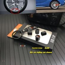 Keychain 4pcs-Valve-Cap Buick Hyundai Toyota Bmw Jeep Nissan Audi Benz Case for Kia ...etc