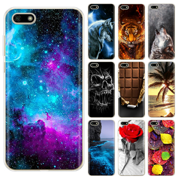 For Huawei Y5 2018 Case Silicone TPU Back Cover Soft Phone for Lite / Prime 5.45 Coque Bumper Funda