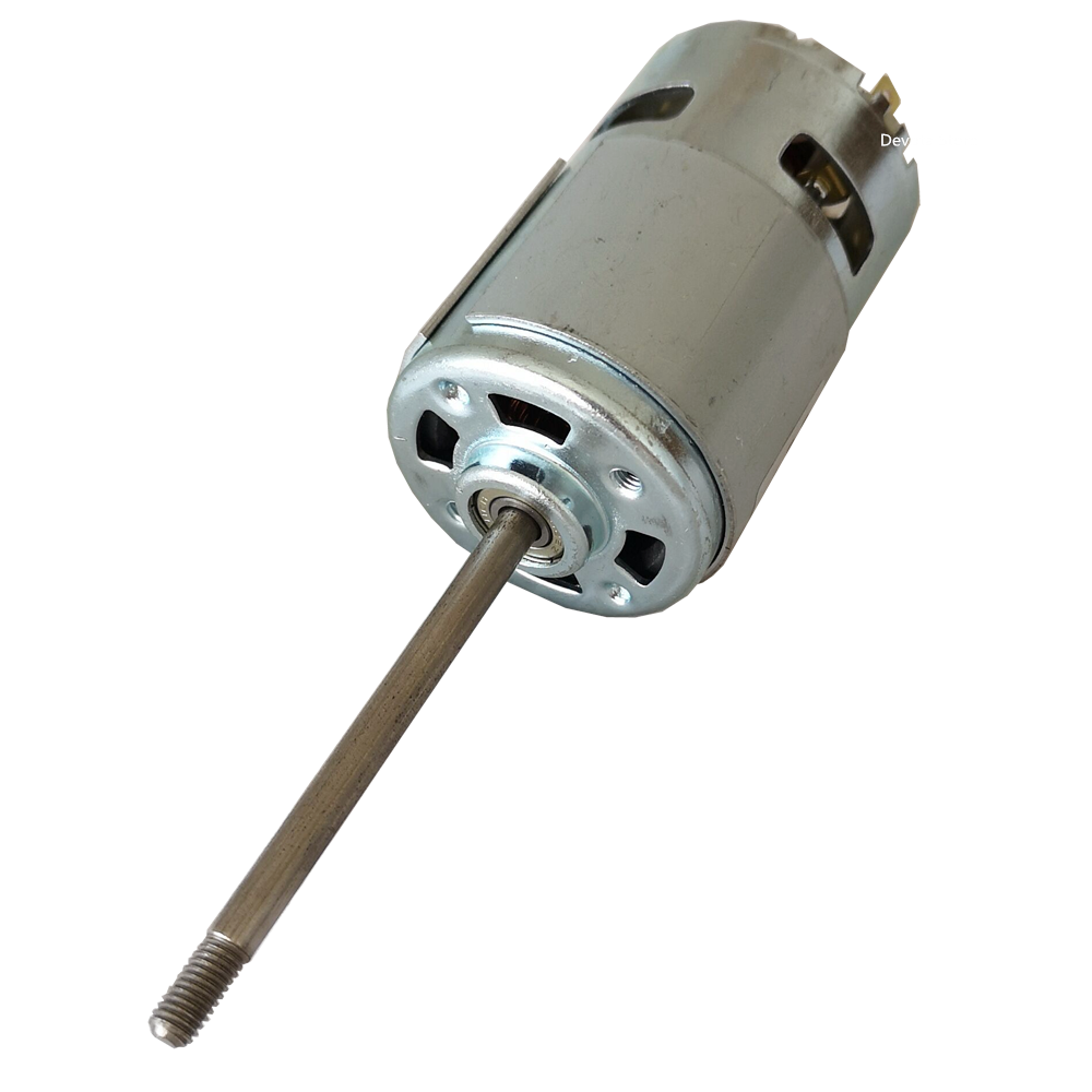 Dual bearing 775 DC Motor 6V 12V 24V 68MM Double shaft screw thread 5000RPM 15000RPM 17000RPM good TOOL motor