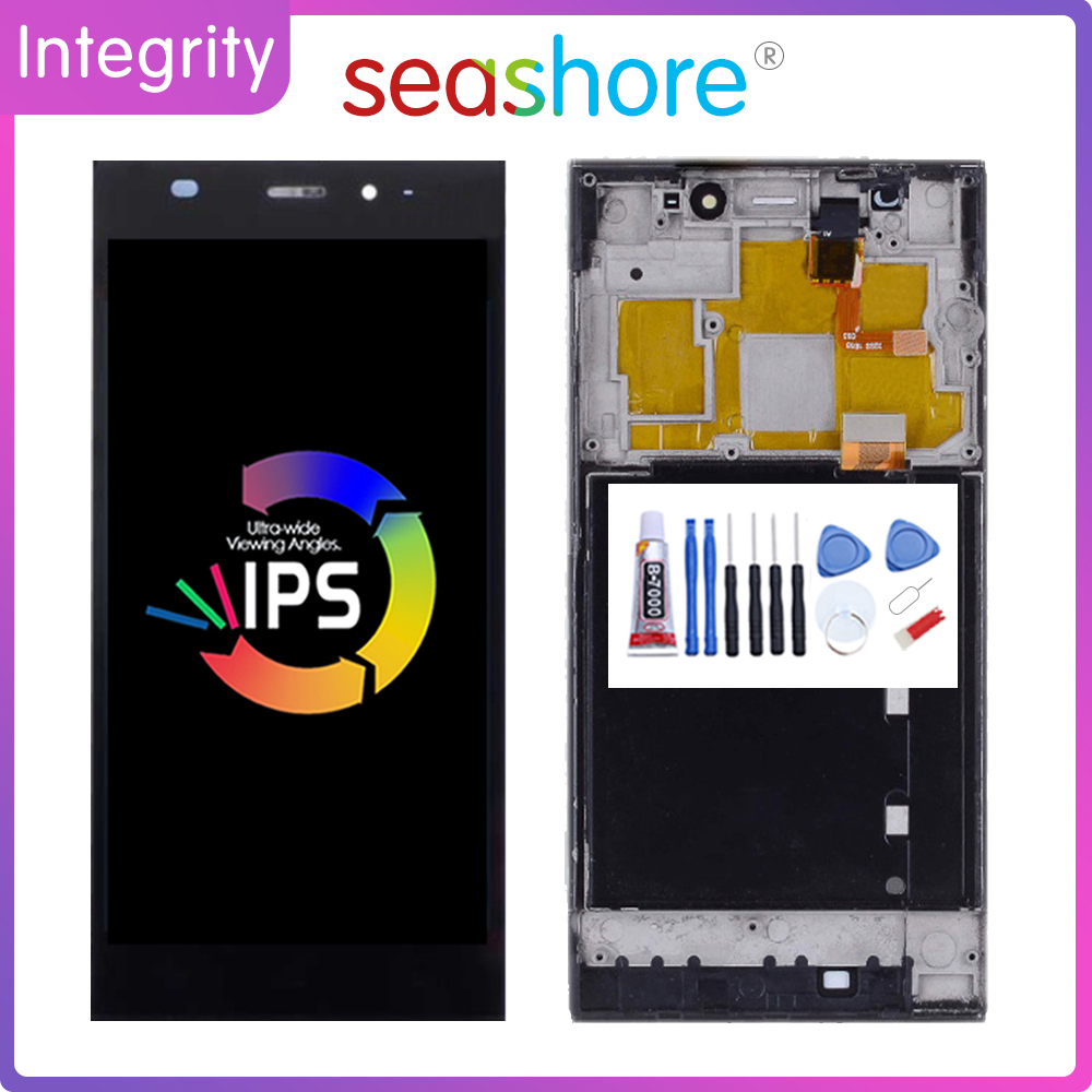 Original For <font><b>XIAOMI</b></font> MI 3 LCD <font><b>Display</b></font> Touch Screen Digitizer Assembly For <font><b>Xiaomi</b></font> <font><b>Mi3</b></font> <font><b>Display</b></font> withFrame Replacement TDS-CDMA WCDMA image