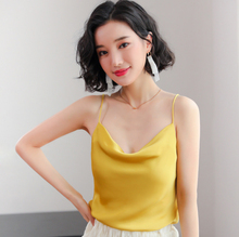 Spring and summer new style New halter top Slim backless solid color bottoming halter top Sleeveless vest halter backless shirred waist top