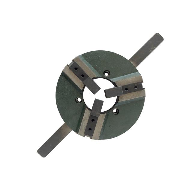 溶接ポジショナーターンテーブルアクセサリー自己センタリングWP200 3 顎マニュアル旋盤チャック