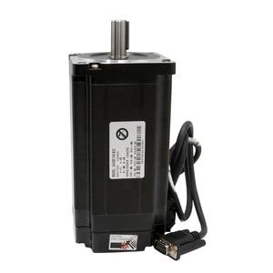 Image 4 - 4 Kit CNC NEMA34 Closed Loop motor 86HSE 8.5N/12.5N  6A Hybrid nema 34 HBS860H & 400W DC Power Supply+ MACH3 Interface board