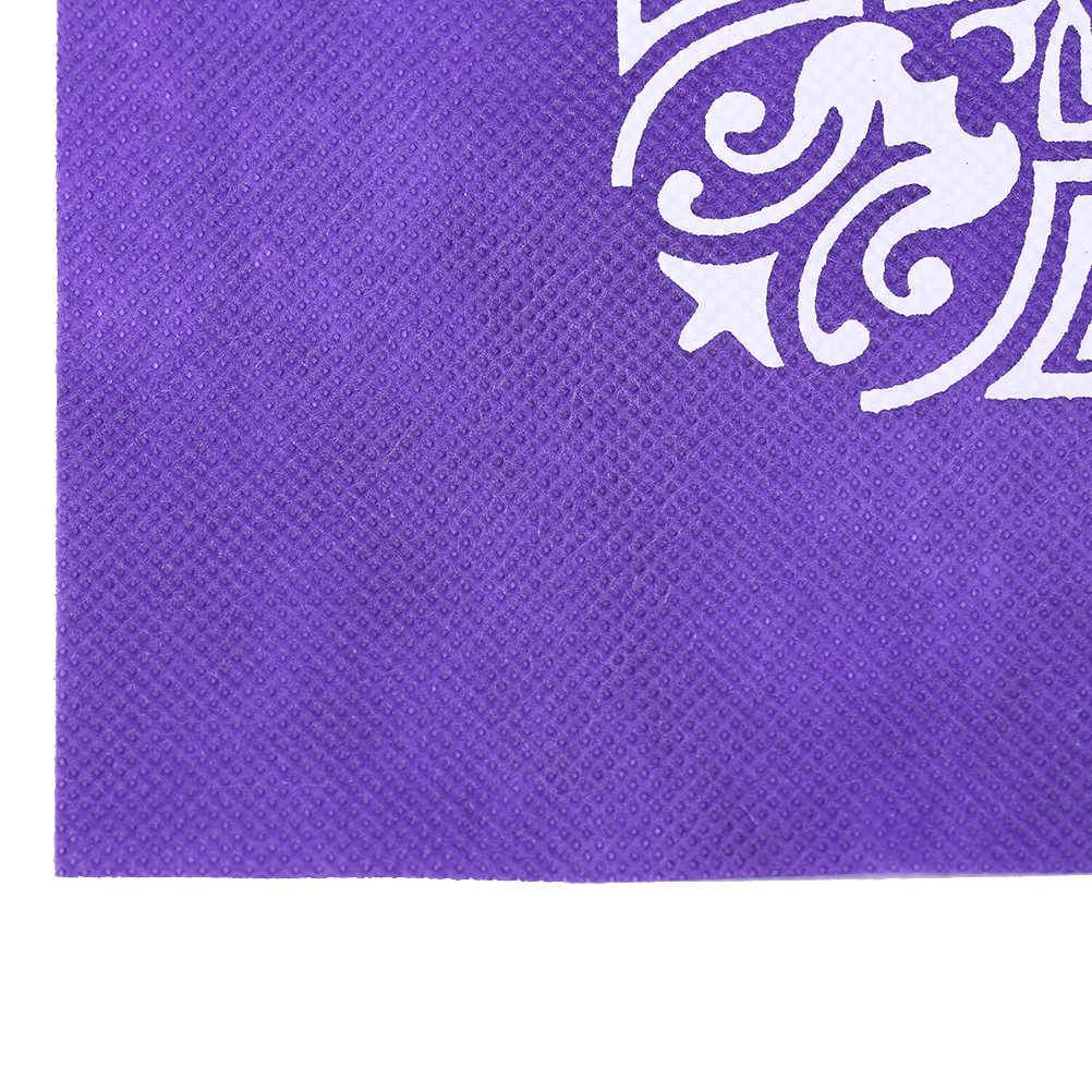 Mantel de juego de Tarot de pentaculo no tejido juego de mesa textil Tarot cubierta de mesa de juego 49x49cm