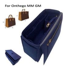 Para onthego mm gm bolsa tote saco organizador bolsa forro Insert-3MM feltro premium (artesanal/20 cores)