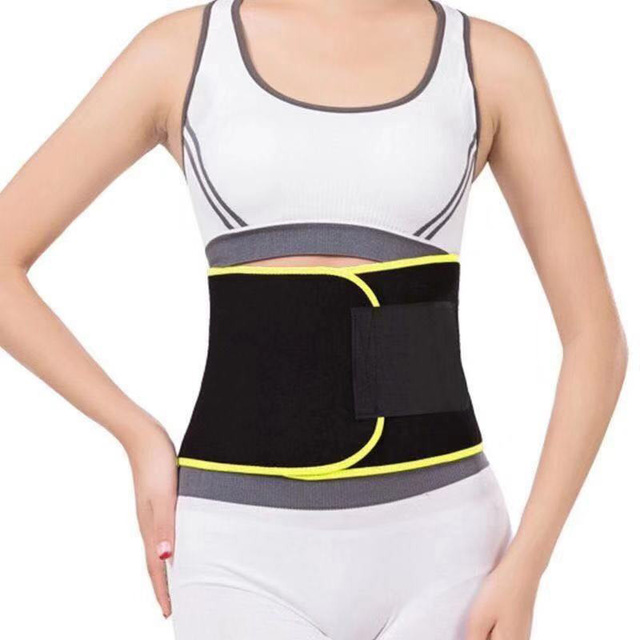 Waist Back Support Waist Trainer Belt Sweat Utility Belt for Sport Gym Fitness Weightlifting Tummy Slim Belts 4