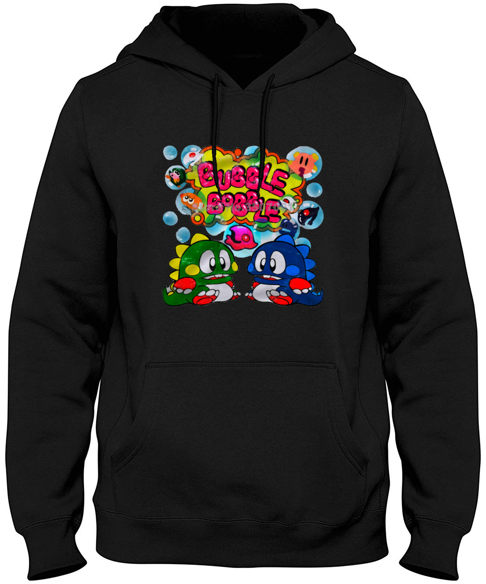 Commodore C64 Amiga Game Gamer Gaming Bubble Bobble Cult Vintage Retro Hoodies & Sweatshirts image