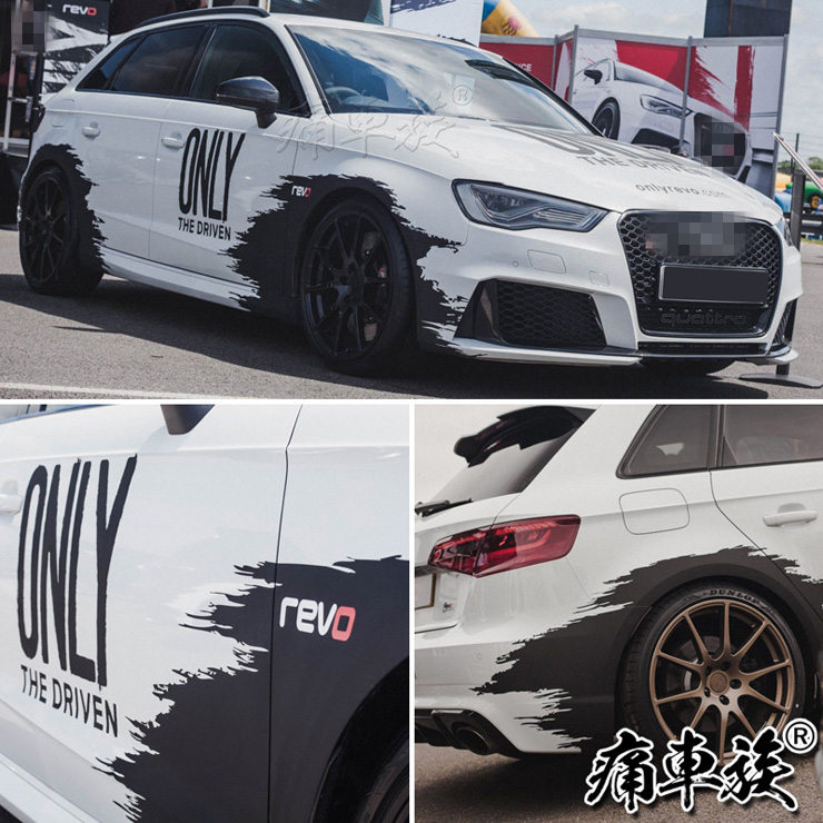 Car <font><b>stickers</b></font> for A3 S3 A4 S4 <font><b>Golf</b></font> 7 <font><b>Golf</b></font> <font><b>6</b></font> car <font><b>stickers</b></font> pull flowers Racing decoration modification image