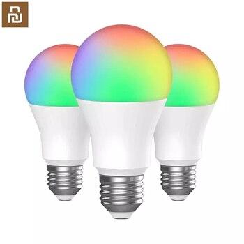 3Pcs Inncap Smart LED light Bulb Colorful E27 Dimmable Lampada Timer Night Light Bulb For Smart APP Remote Control