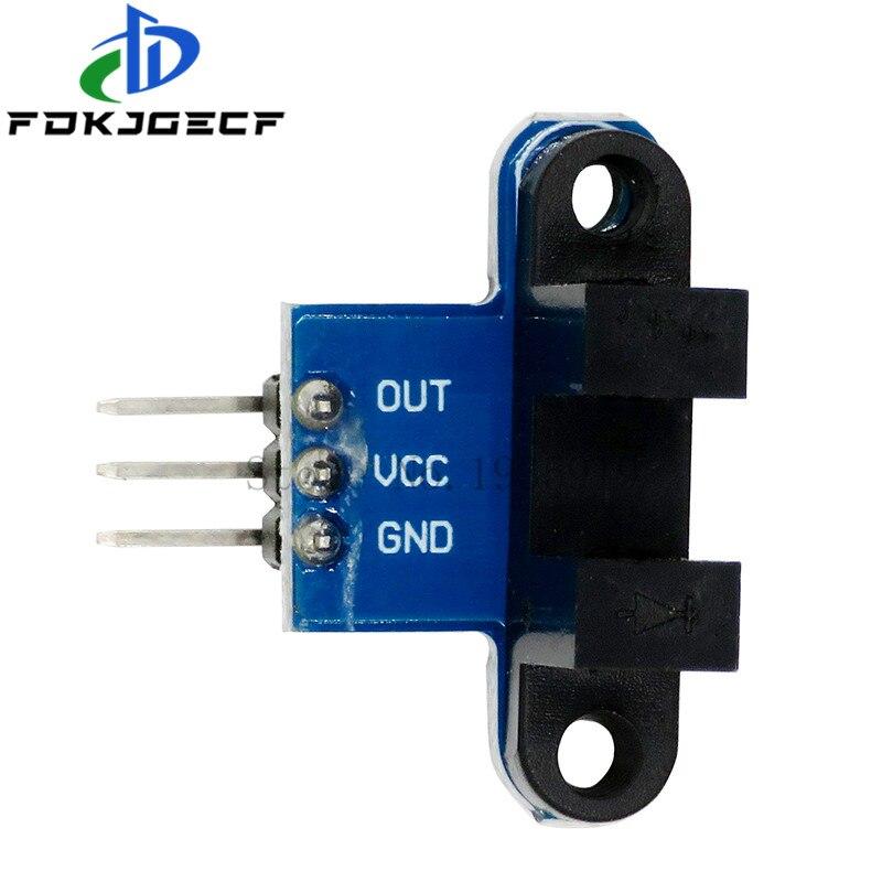Motor Test IR Infrared Slotted Optical Speed Measuring Sensor Detection Optocoupler Module