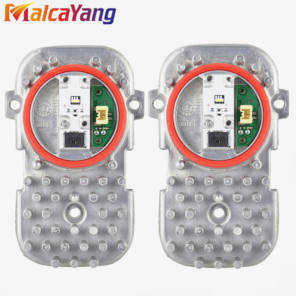 2pcs For B-M-W 4' F32 F82 F33 F83 F36 6' F06 F12 F13 X3 F25 X5 X6 LED Headlight Headlamp Ballast Control Kit 63117263051