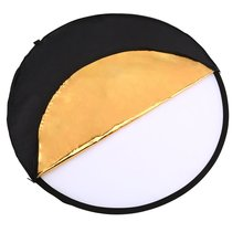 60x90cm 24x35 5 in 1 multi reflector photography studio photo oval collapsible light reflector handhold portable photo disc 60cm 80cm Round Disk 5 in 1 Portable Circular Steel-framed Photography Studio Light Mulit Collapsible Reflector+Carrying bag