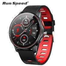 L6 IP68 Wasserdichte Intelligente Uhr 2020 Fitness Tracker Heart Rate Monitor Smart Whatch Männer Frauen Smartwatch Für Android IOS
