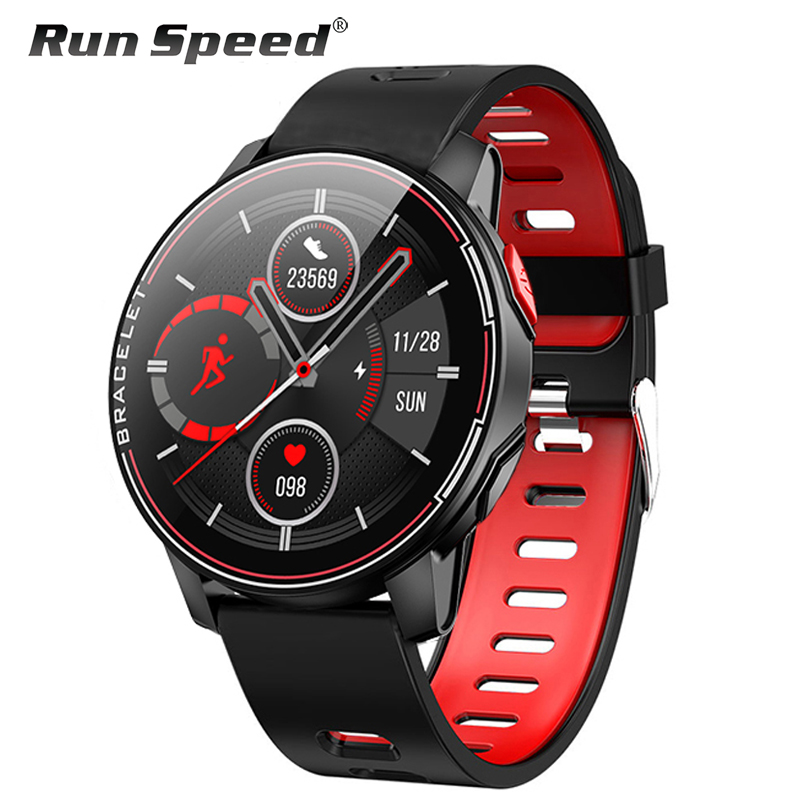 L6 IP68 Waterproof Smart Watch 2020 Fitness Tracker Heart Rate Monitor Smart Whatch Men Women Smartwatch For Android IOS