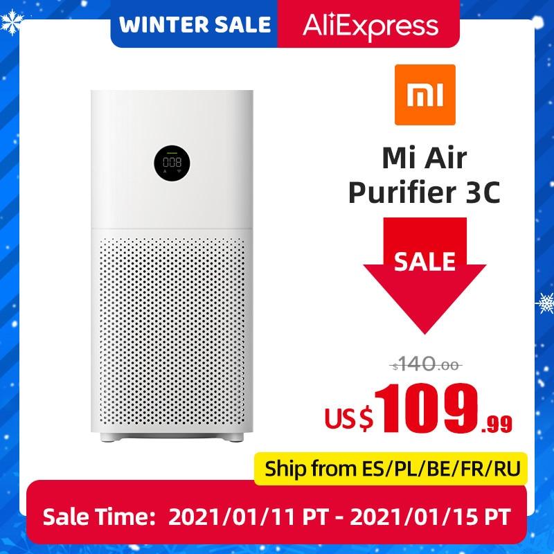 Oczyszczacz powietrza Xiaomi Mijia Mi Air Purifier 3C z Polski za $91.99 / ~362zł