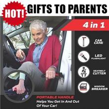 Seatbelt-Cutter Cane-Handle Bar-Door-Support Emergency-Glass-Breaker Aid-Stand Grab 50%Off-Car