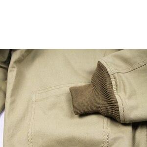 Image 4 - جاكيت جيب M41 بتصميم متماثل من FURY مصنوع من الصوف العتيق طراز WW2 معطف عسكري للرجال لخريف/ربيع الجيش ملابس خارجية من مقاس 36 44 #