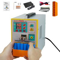 SUNKKO 788S spot welder New upgrade 2.8KW spot welding machine spot welding battery USB power charging test 18650 battery as one