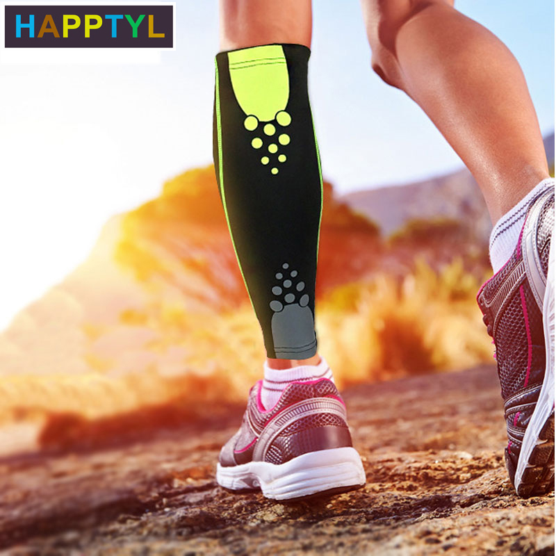 HAPPTYL 1Pcs Calf Compression Sleeve Leg Compression Socks Strong Calf Support For Men Women, Best For Calf Pain Relief