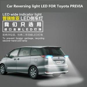Samochód światło cofania LED dla Toyota PREVIA T15 9W 5300K Back-up pomocniczy żarówka PREVIA reflektorów modyfikacji