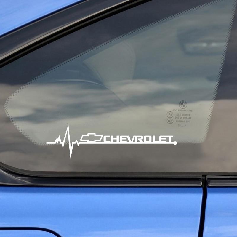 2pcs Car Styling Side Window Decorative Waterproof PVC Vinyl Sticker Decals For Chevrolet Cruze Aveo Captiva Lacetti Niva Epica