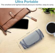 Ultra Portable Wireless Bluetooth Upper Arm Blood Pressure Monitor Large Cuff Multi Users with APP FDA Approved AirBP STD